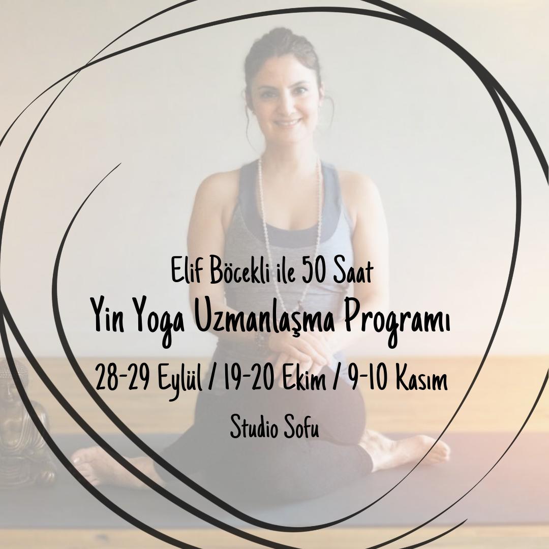 Elif Böcekli ile Yin Yoga Uzmanlaşma Programı